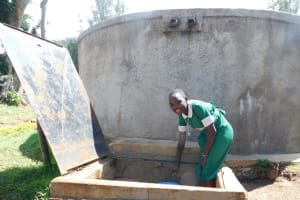 The Water Project: Erusui Girls Primary School -  Fetching Water