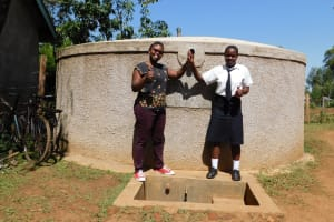 The Water Project: Shanjero Secondary School -  Jacklyne And Chelsea