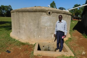 The Water Project: Bushili Secondary School -  Deputy Principal Titus Wanyama