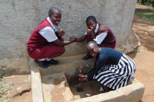 The Water Project: George Khaniri Kaptisi Mixed Secondary School -  Sylvia Vihenda Magdalene Kwamboka Joan Were