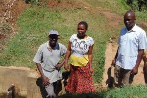 The Water Project: Esembe Community, Chera Spring -  Elisha Linet Victor