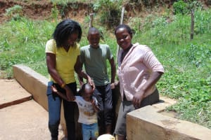 The Water Project: Elukuto Community, Isa Spring -  Smiles At Isa Spring