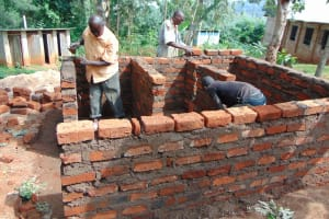 The Water Project: Kitumba Primary School -  Latrine Construction