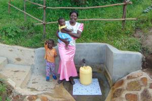 The Water Project: Mukoko Community, Mukoko Spring -  Happy Family