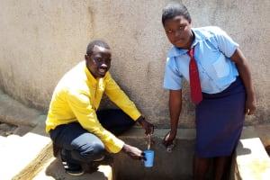 The Water Project: Esibeye Secondary School -  Erick With Rumona