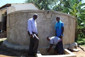 The Water Project: Imuliru Primary School -  Running Water
