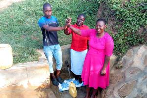 The Water Project: Ataku Community, Ataku Spring -  Charle Esther Betty