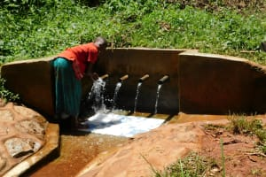 The Water Project: Shilakaya Community, Shanamwevo Spring -  Befry Smiles