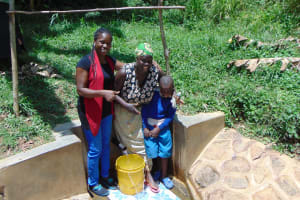 The Water Project: Ivulugulu Community, Ishangwela Spring -  Christine Dora Lewi