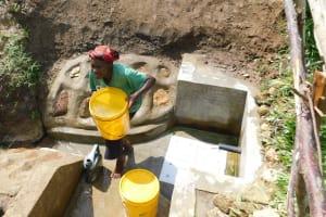 The Water Project: Sambuli Community, Nechesa Spring -  So Much Water