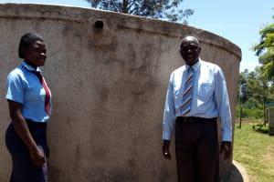 The Water Project: Esibeye Secondary School -  Rumona And Omulo