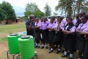 The Water Project: Namanja Secondary School -  Dental Hygiene Training