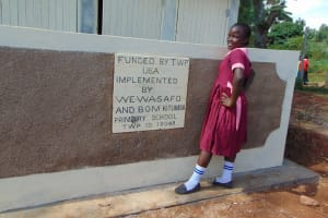 The Water Project: Kitumba Primary School -  Completed Latrines