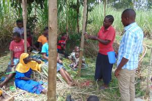 The Water Project: Burachu B Community, Namukhuvichi Spring -  Handwashing Training