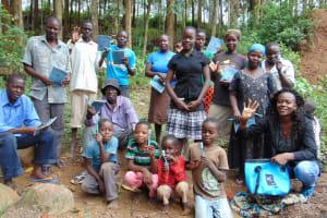 The Water Project: Eshiasuli Community, Eshiasuli Spring -  Training Complete