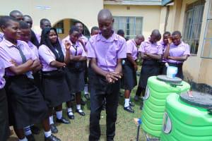 The Water Project: Namanja Secondary School -  Handwashing Training