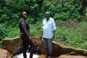 The Water Project: Shilakaya Community, Shanamwevo Spring -  Jacklyne And John