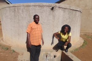 The Water Project: Eshisiru Secondary School -  Running Water