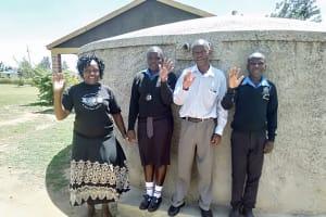The Water Project: Mutsuma Secondary School -  Mutsuma Students And Staff