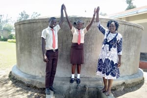 The Water Project: Shibale Secondary School -  Fabian Linda And Karen