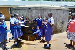 The Water Project: Mumias Complex Primary School -  Happy Students