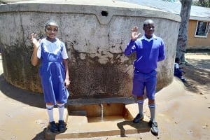 The Water Project: Mumias Complex Primary School -  Stephanie And Juma
