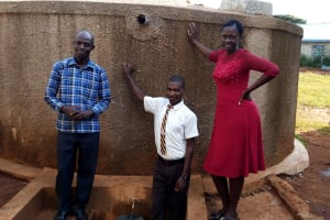 The Water Project: Womulalu Secondary School -  Staff And Student