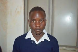 The Water Project: Kikuswi Secondary School -  Alex Mumo