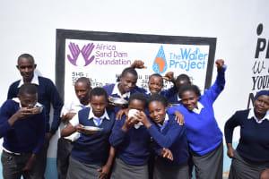 The Water Project: Kikuswi Secondary School -  Celebration