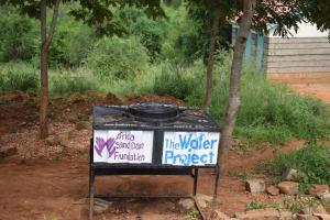 The Water Project: Kikuswi Secondary School -  Handwashing Station