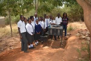 The Water Project: Kikuswi Secondary School -  Student Health Club Members