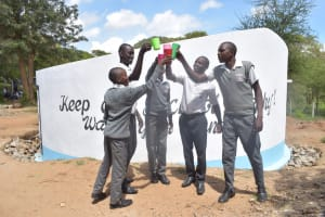 The Water Project: AIC Kyome Boys' Secondary School -  Cheers