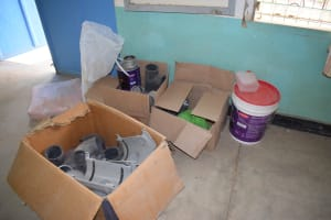 The Water Project: AIC Kyome Boys' Secondary School -  Construction Materials