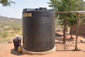 The Water Project: Kangutha Primary School -  Plastic Water Container