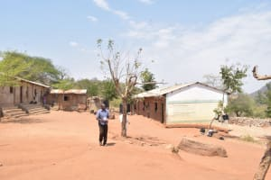 The Water Project: Kangutha Primary School -  Compound