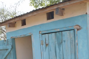 The Water Project: Nyanyaa Secondary School -  Staff Latrines