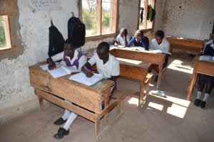 The Water Project: Nyanyaa Secondary School -  Studying