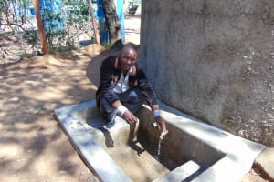 The Water Project: Ematetie Primary School -  Mr Ndeta Terary