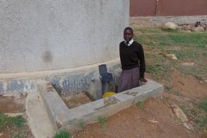The Water Project: Lihanda Secondary School -  Student Pauline Atieno