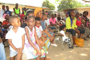 The Water Project: Kasongha, 8 BB Kamara Street -  Children At The Training