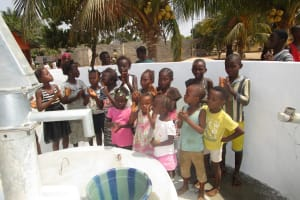 The Water Project: Kasongha, 8 BB Kamara Street -  Children Play At The Well