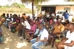 The Water Project: Kasongha, 8 BB Kamara Street -  Community Members At The Training