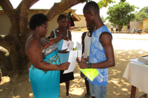 The Water Project: Kasongha, 8 BB Kamara Street -  Participation In The Training
