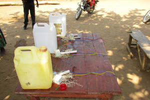 The Water Project: Kasongha, 8 BB Kamara Street -  Tippy Tap Construction Stations
