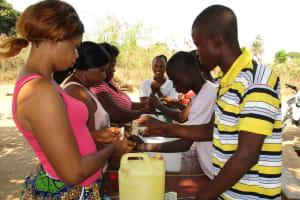 The Water Project: Kasongha, 8 BB Kamara Street -  Tippy Tap Construction