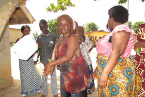 The Water Project: Kasongha, 8 BB Kamara Street -  Tippy Tap Demonstration