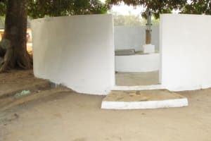 The Water Project: DEC Makassa Primary School -  Complete Well