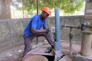 The Water Project: DEC Makassa Primary School -  Drilling