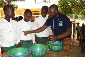 The Water Project: DEC Makassa Primary School -  Handwashing Activity