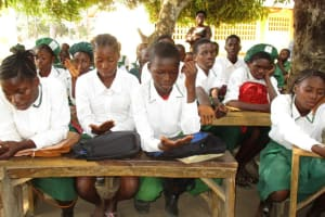 The Water Project: DEC Makassa Primary School -  Handwashing Demonstration